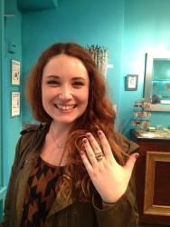 Megan in the Cheetah Ring