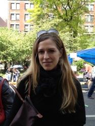 Carola in Mixed Metals Multi Strand Circle Earrings