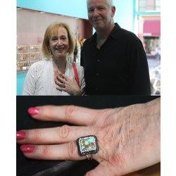 Turquoise-byzantine-ring