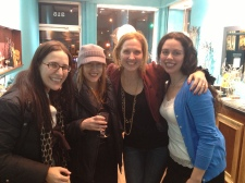Jennifer, Emilia, and Lindsey traveled all the way from Brooklyn to be a part of the event.