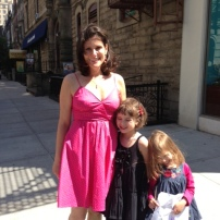 Mother's Day pink dress