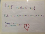 sophie's mother's day signs